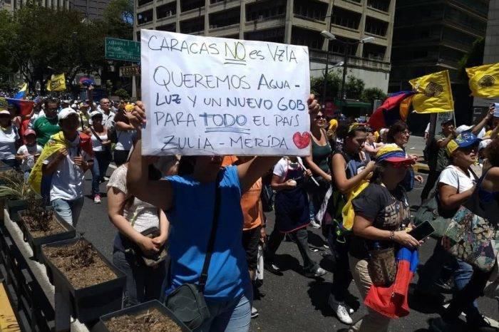 Protestas aumentaron 126% en el primer semestre de 2019 respecto al mismo lapso 2018