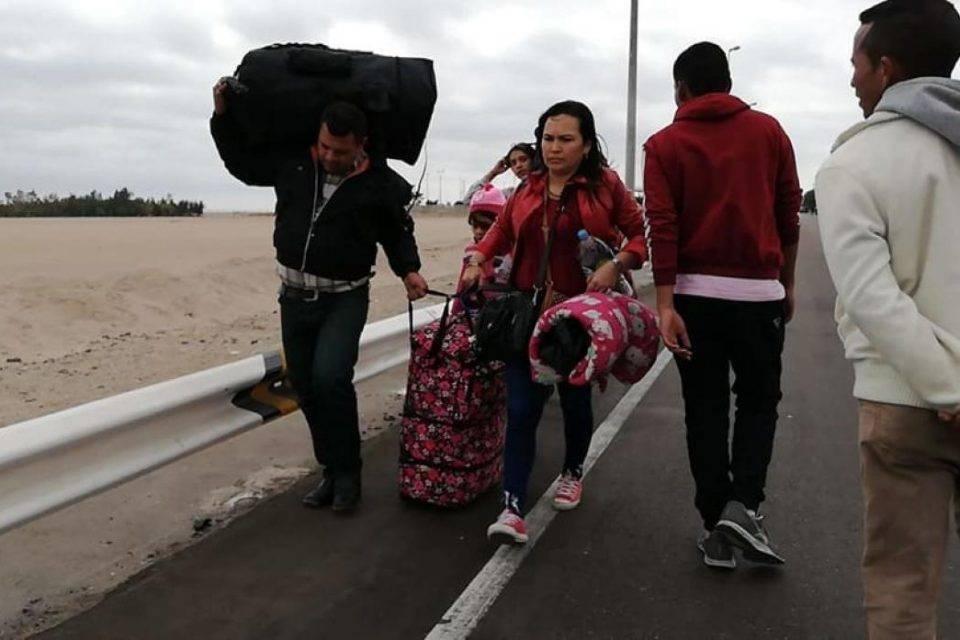Venezolanos Chile migrantes
