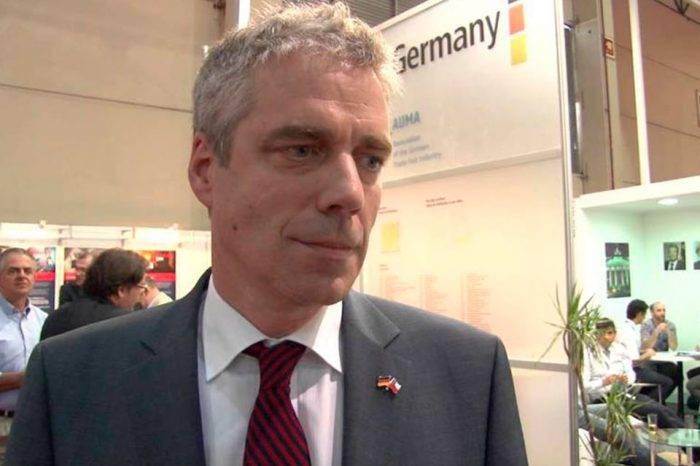 Embajador alemán regresa a Caracas tras cuatro meses de relaciones suspendidas