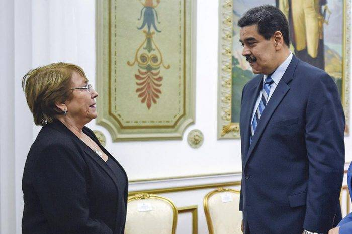 Gobierno de Maduro se compromete a darle acceso ilimitado a los enviados de Bachelet