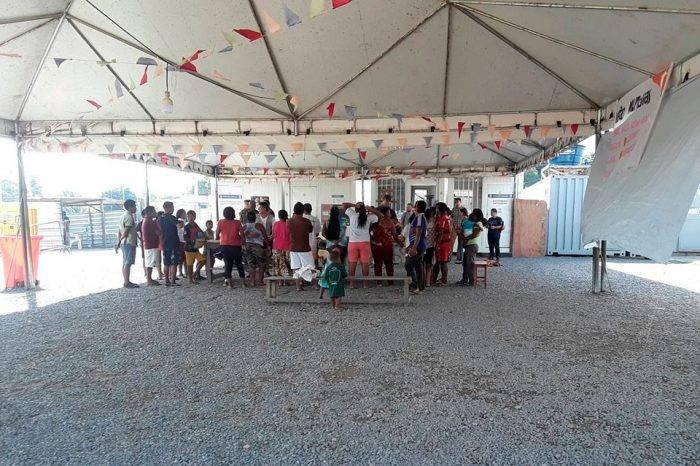Crisis del país mantiene a 430 waraos refugiados en frontera con Brasil