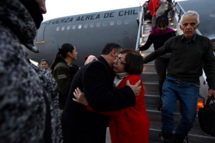 Retornan a su país 807 chilenos desde Venezuela a través del programa Vuelo Esperanza