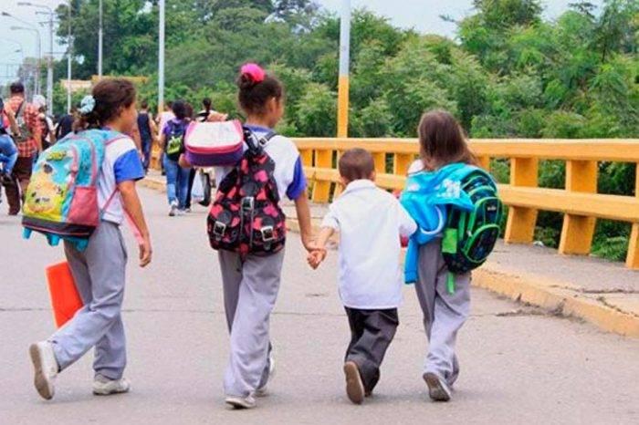 Escuelas públicas de Cúcuta albergan a más de 10 mil niños venezolanos
