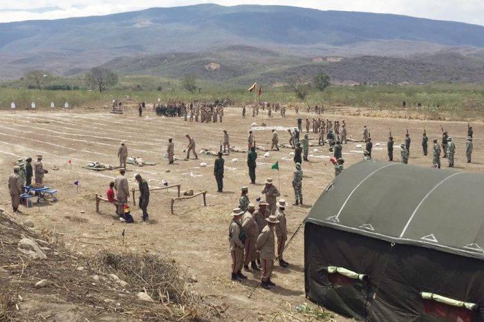 Ceofan desplegó tres mil efectivos militares en el Puente Tienditas.