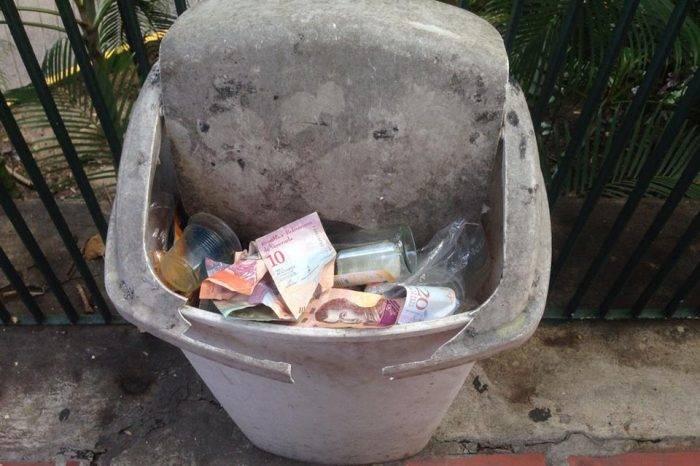 El cono monetario de Maduro se esfumó en apenas un año