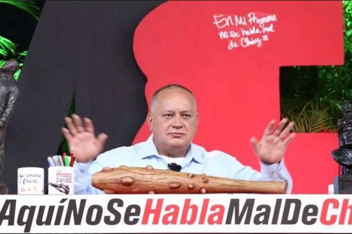 Cabello: Si EEUU quiere negociar tiene que hacerlo con Nicolás Maduro