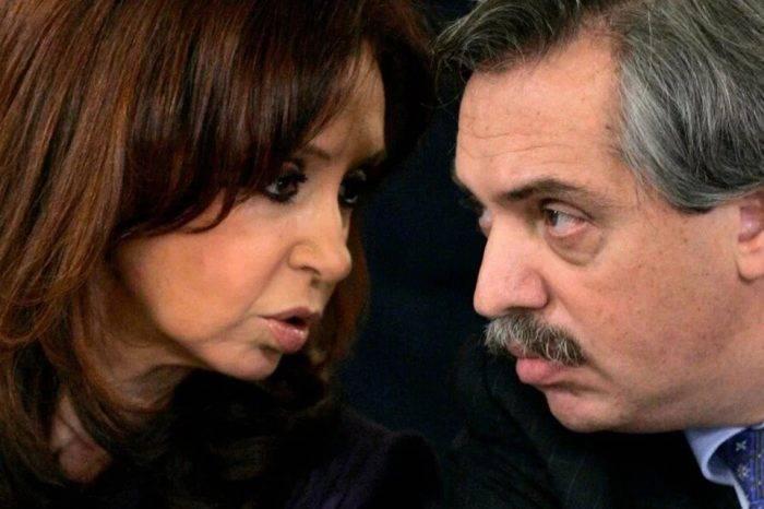 Cristina Kichner y Alberto Fernandez