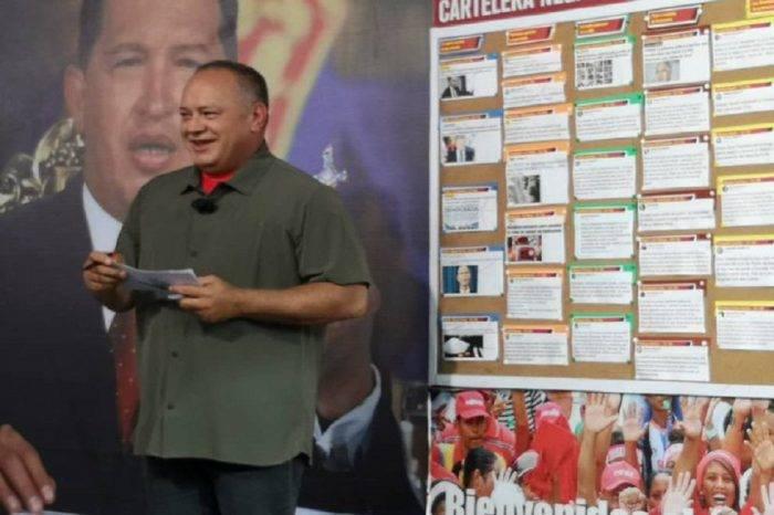 Cabello: Crearemos una ley contra ONG que utilicen dinero para conspirar