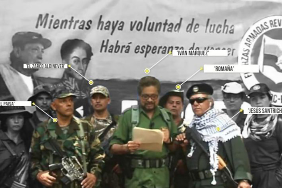 Colombia insiste que líderes disidentes de las FARC están en Venezuela