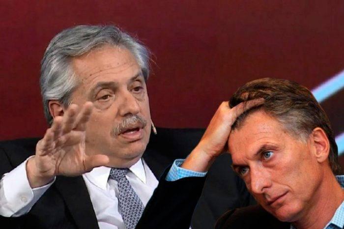 Fernández y Macri