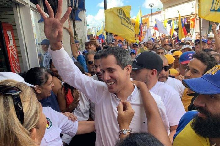 Juan Guaidó inició etapa de presión ciudadana por los derechos