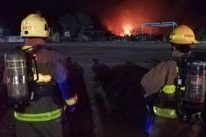 Alarma en Cucuta debido a un incendio