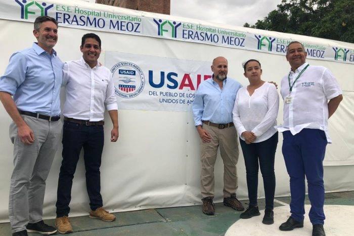 Inauguran extensión de la emergencia del hospital en Cúcuta para atención de venezolanos que cruzan la frontera por las carencias del sistema de salud pública de Venezuela