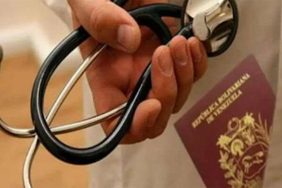 Médicos venezolanos migrantes covid-19