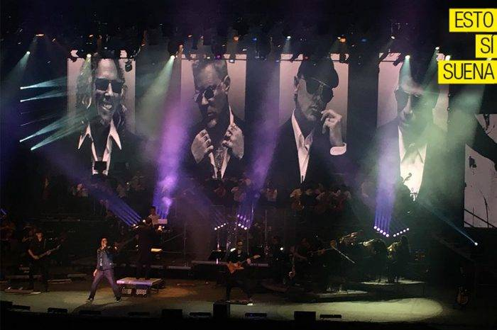 Metallica Sinfónico, aplausos a pesar del actual TTC