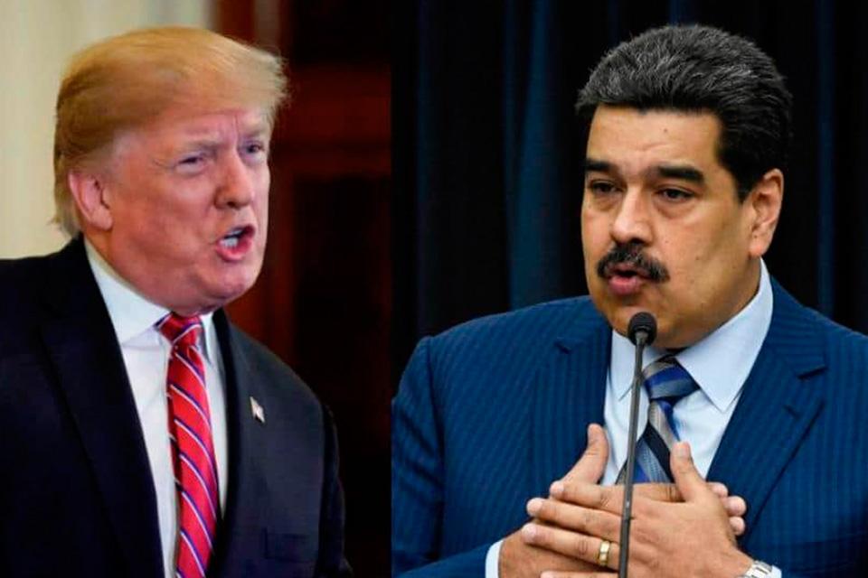 Coronavirus Trump y Maduro