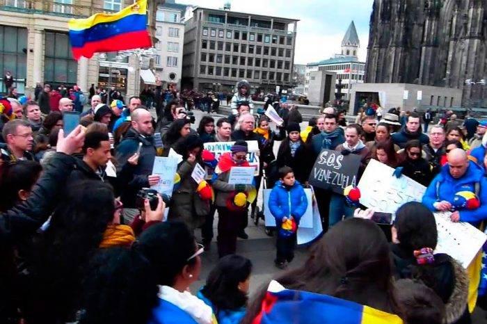 Venezolanos en Alemania