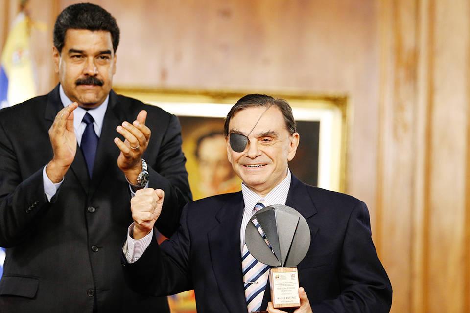 Walter Martínez acusa a Jorge Rodríguez