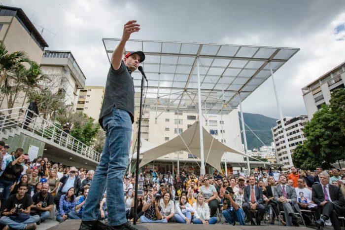 Acto Juan Requesens Capriles