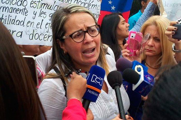 Gricelda Sánchez: los maestros estamos viviendo un paro convocado por el mismo ministro