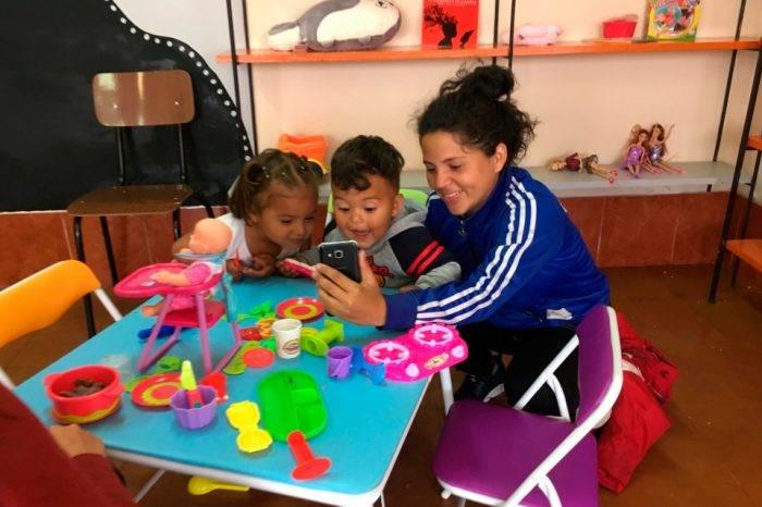 Crean en Chile un centro de atención especializada para la niñez venezolana