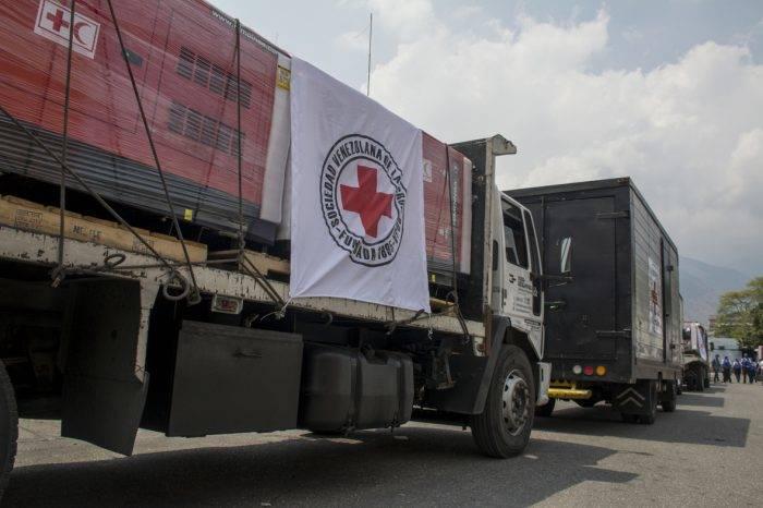 Cruz Roja Venezolana recibió primer cargamento de ayuda humanitaria de este 2020