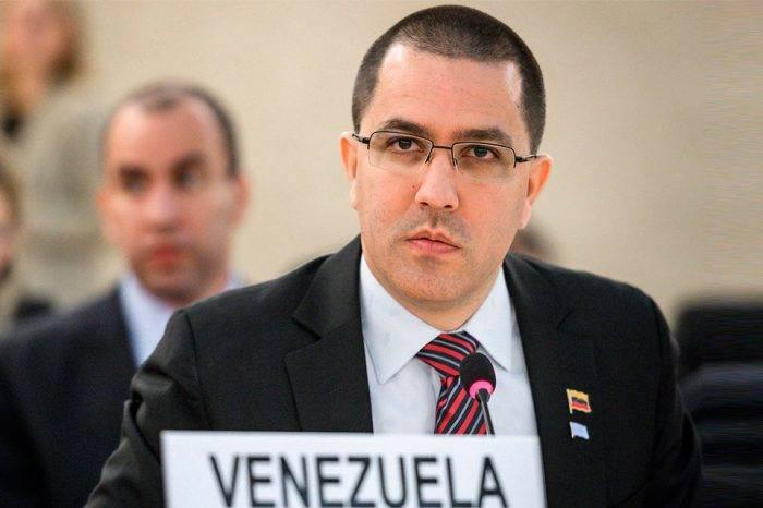 """Jorge Arreaza pide ante la ONU el cese del """"bloqueo económico"""" a Venezuela"""