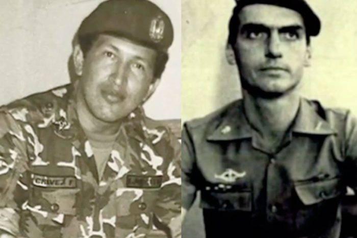 Chávez y Bolsonaro