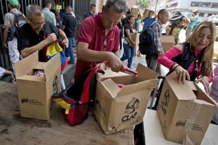 Gobierno no aplica la igualdad a la hora de distribuir las cajas CLAP