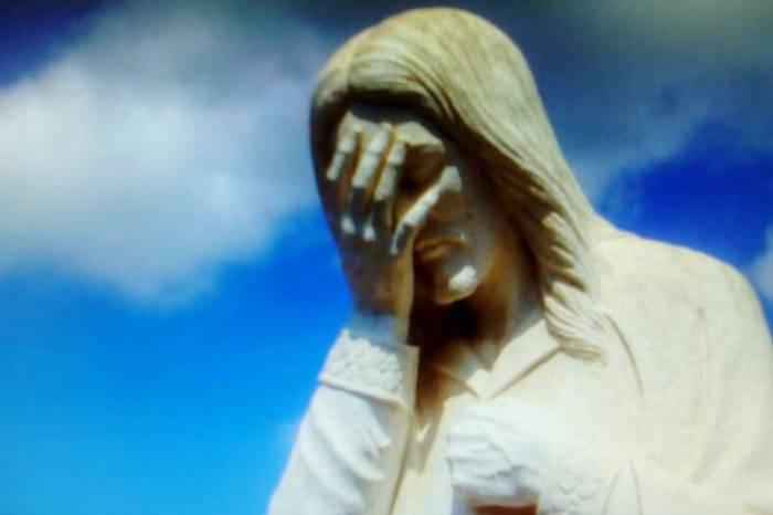 Cristo tapado