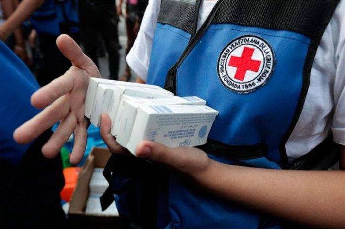 Cruz Roja otorgó a Venezuela 22 toneladas de ayuda humanitaria contra la covid-19
