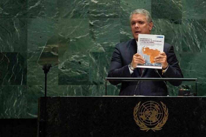Iván Duque entregó a la ONU informe con datos falsos sobre Venezuela