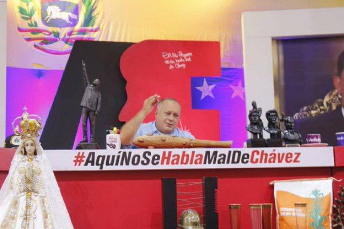 """Cabello revelará más """"pruebas"""" sobre la supuesta amistad de Guaidó con """"Los Rastrojos"""""""