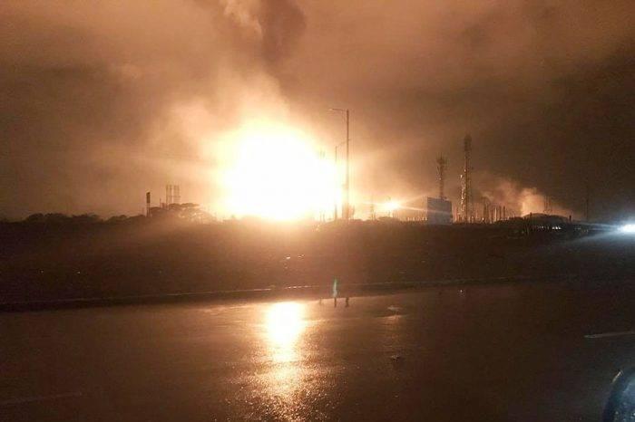 Falla eléctrica afecta refinerías de Amuay y Cardón