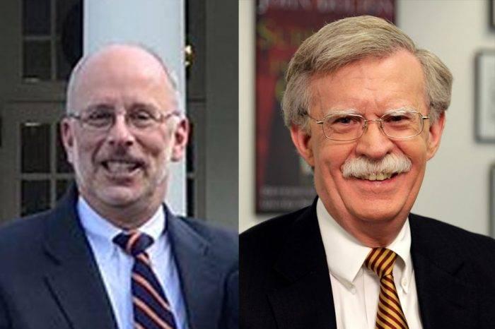 Charlie Kupperman hereda el cargo de Bolton como Asesor de Seguridad de EEUU