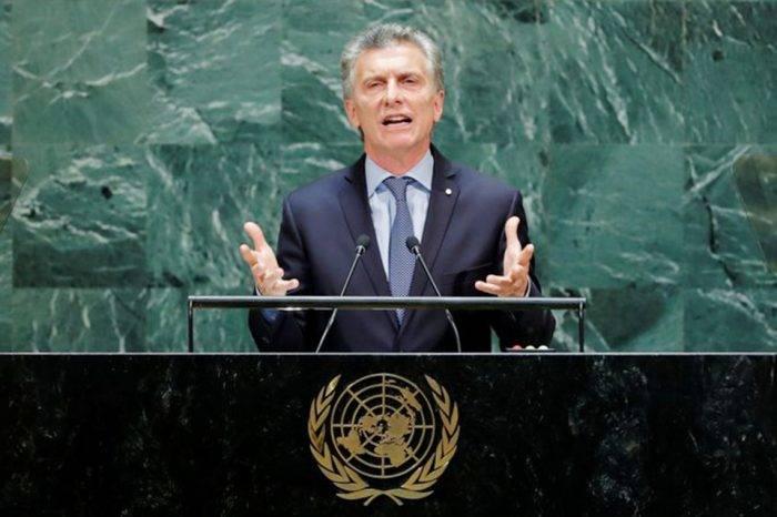 """La dictadura de Maduro sumió a Venezuela en una crisis humanitaria"", afirma Macri"