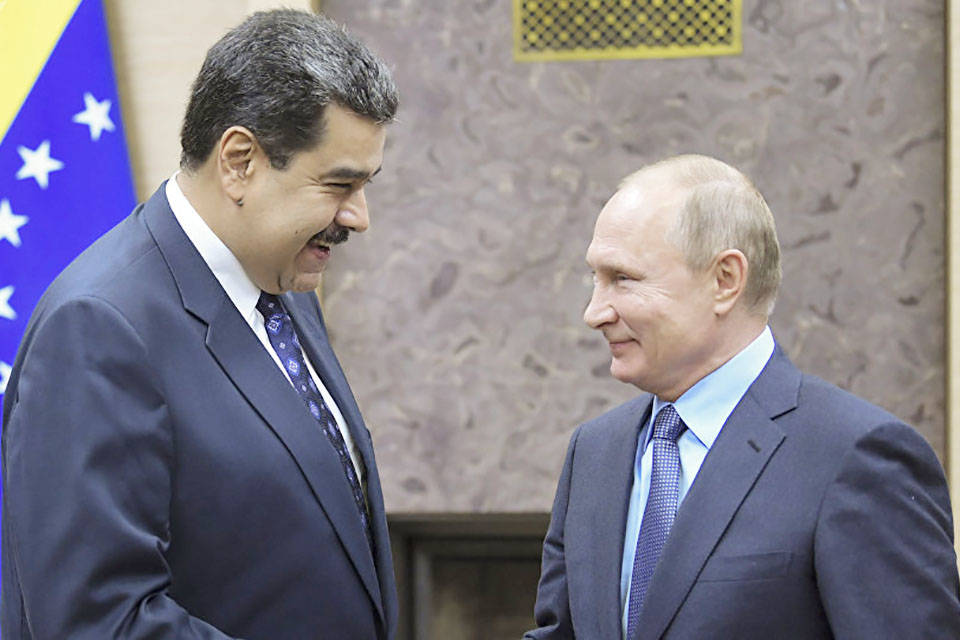 Moscú y Caracas preparan una visita de Maduro a Rusia