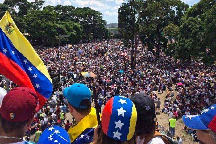 Marcha Venezolanos