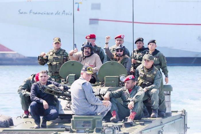 """Ejercicios militares fronterizos """"soberanía y paz"""" comienzan este martes"""