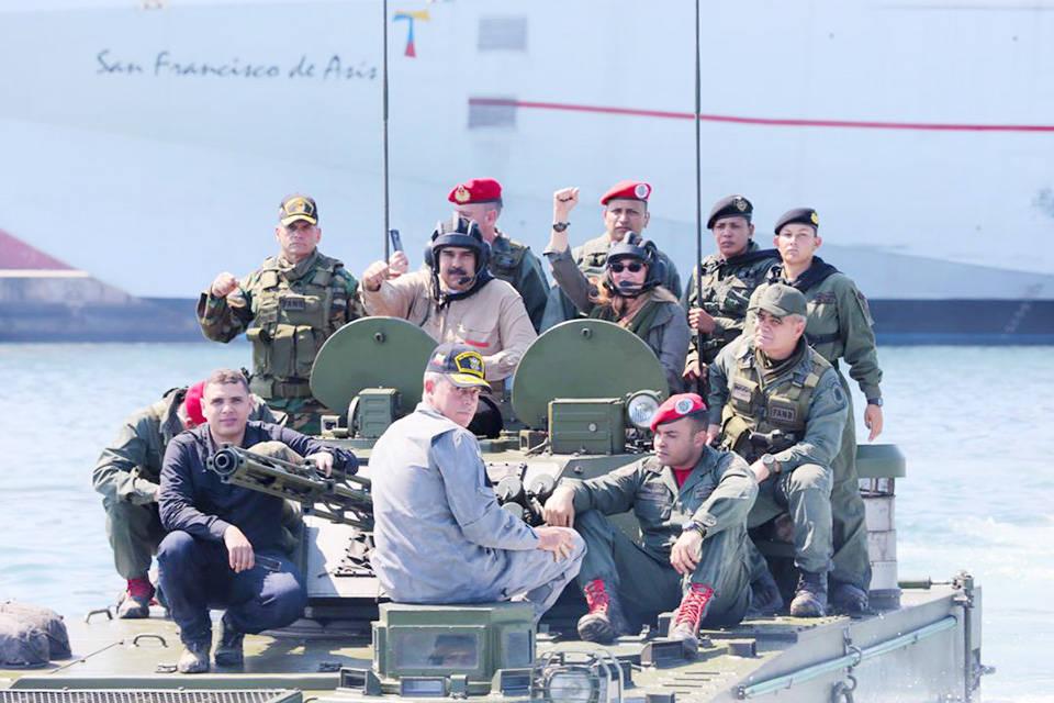"""Ejercicios militares fronterizos """"soberanía y paz"""""""