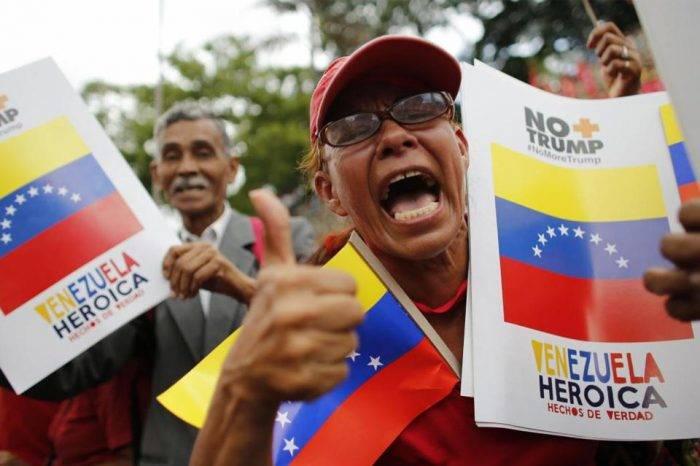 Chavismo asegura que alcanzó las 10 millones de firmas anti-Trump