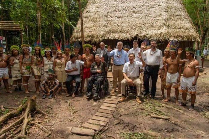 Gobiernos sudamericanos firman pacto para preservar recursos de la Amazonía
