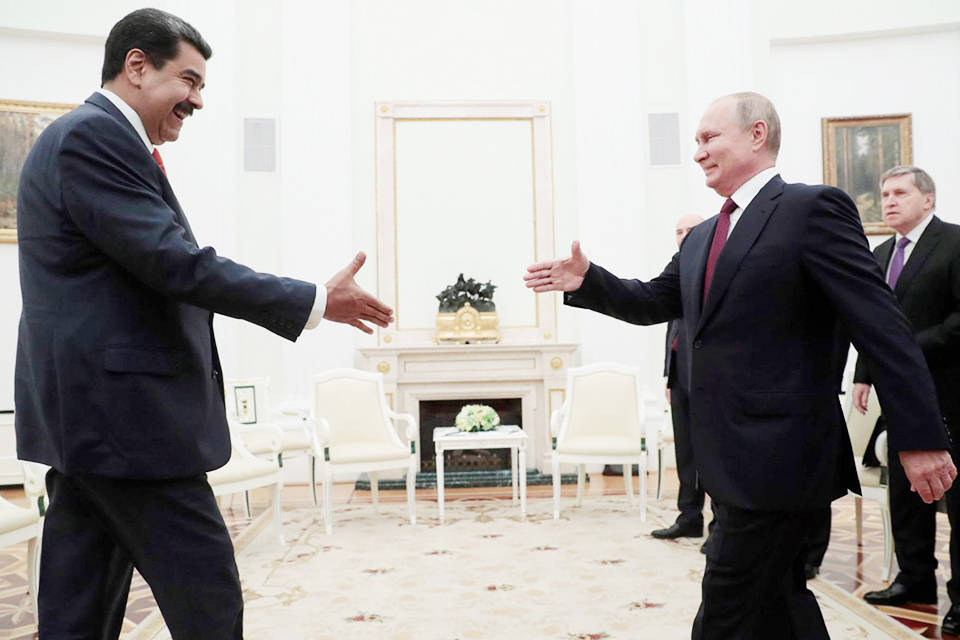 Maduro Putin Rusia evalúa enviar misión económica permanente a Venezuela