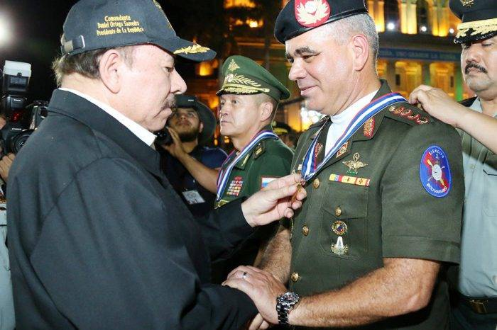 Soldados de Rusia, Venezuela y México participan en desfile en Nicaragua