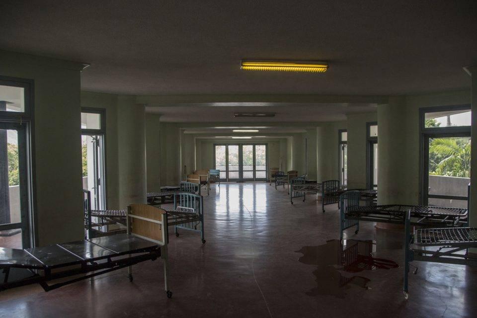 camas de hospitales - coronavirus