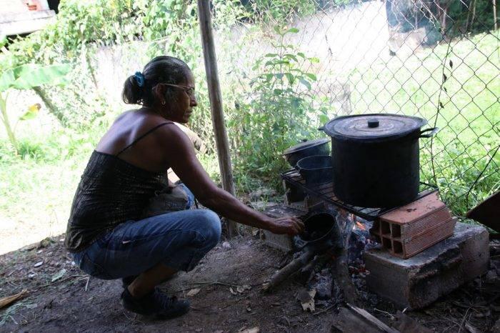 En Yare la falta de gas hizo que la leña sustituyera a las hornillas