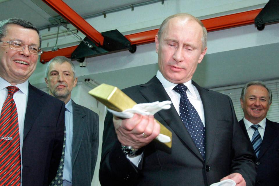 Putin oro Venezuela