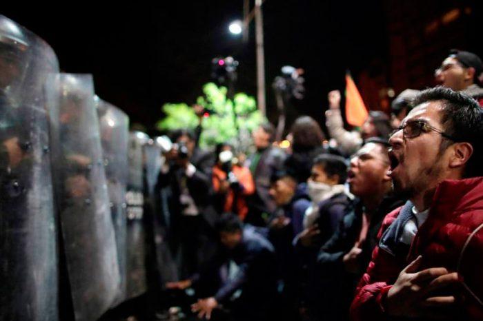 Detienen en Bolivia a cuatro sujetos con armamento y uniformes de la policía venezolana