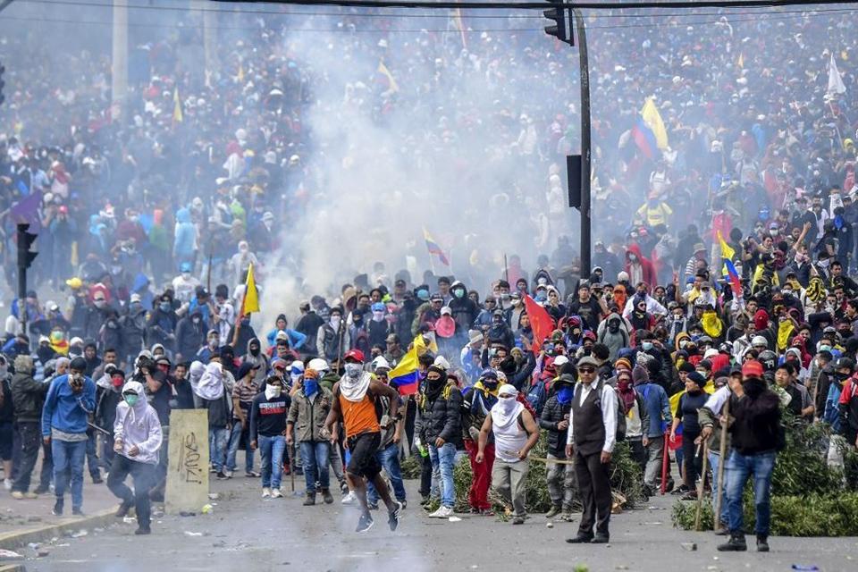 Crisis en Ecuador | Hay venezolanos entre los 717 extranjeros detenidos. El vicepresidente Otto Sonnenholzner no especificó la cifra exacta