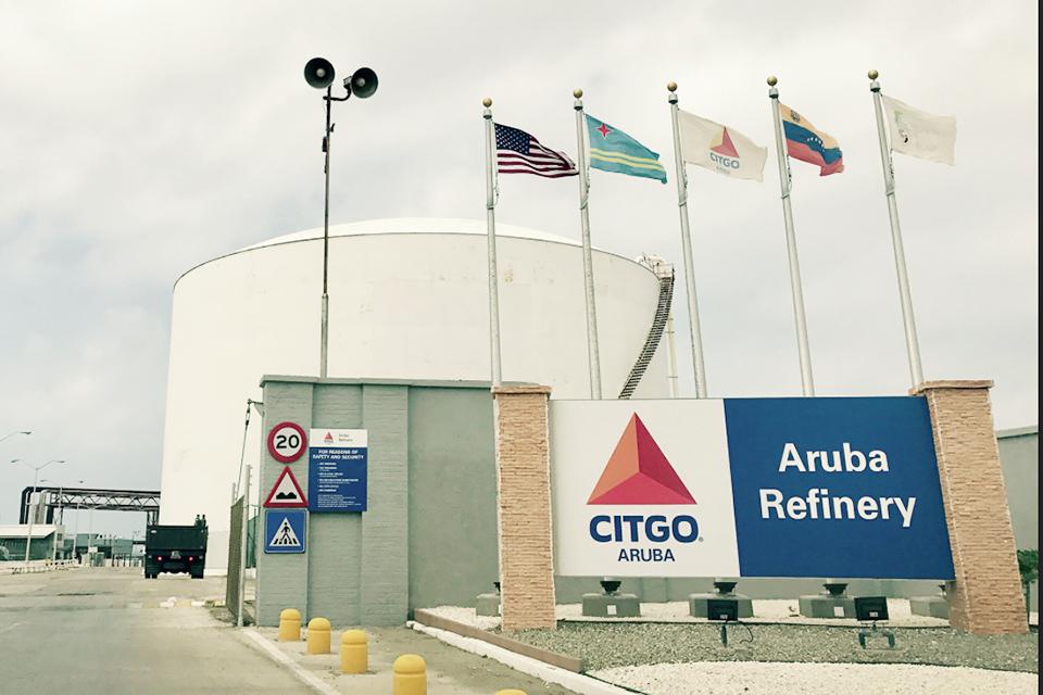 Aruba pone fin a contrato con Citgo para renovar y operar refinería de petróleo. La refinería no tiene capacidad para cumplir sus compromisos